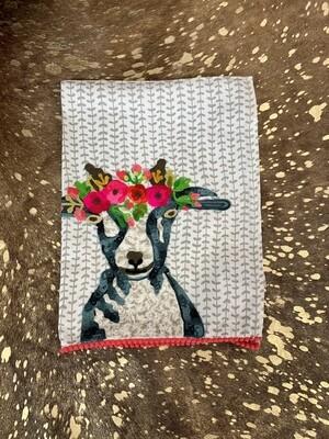 Simplicity Goat Tea Towel