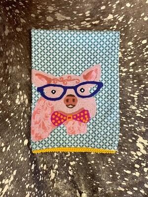 Pig from the Farm Tea Towel