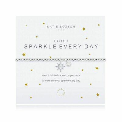 a little Sparkle Every Day bracelet