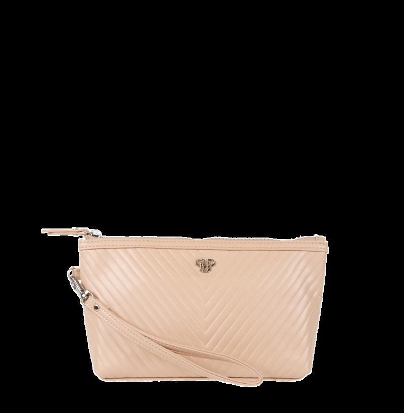 Getaway Small Makeup Case-Pale Pink