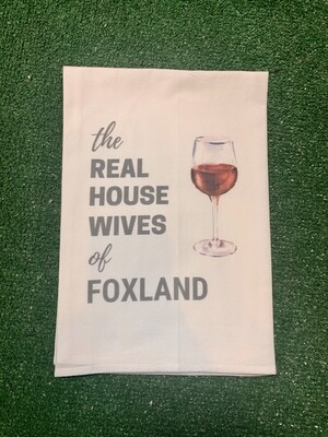 Real Housewives of Foxland Kitchen Towel