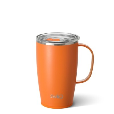 Orange 18oz Tall, Skinny Mug