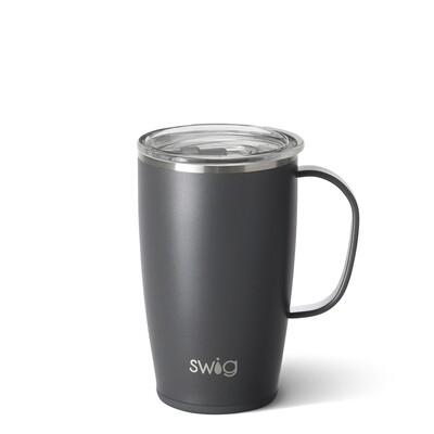 Grey 18oz Tall, Skinny Mug