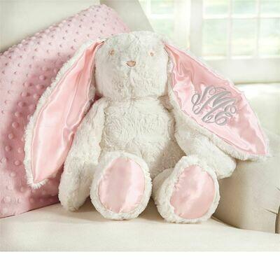 Plush Minky Bunny-Pink