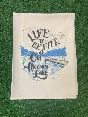 Better at the Old Hickory Lake Kitchen Towel