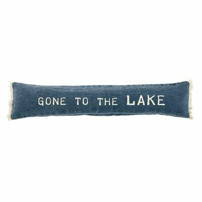 Gone to the Lake Pillow