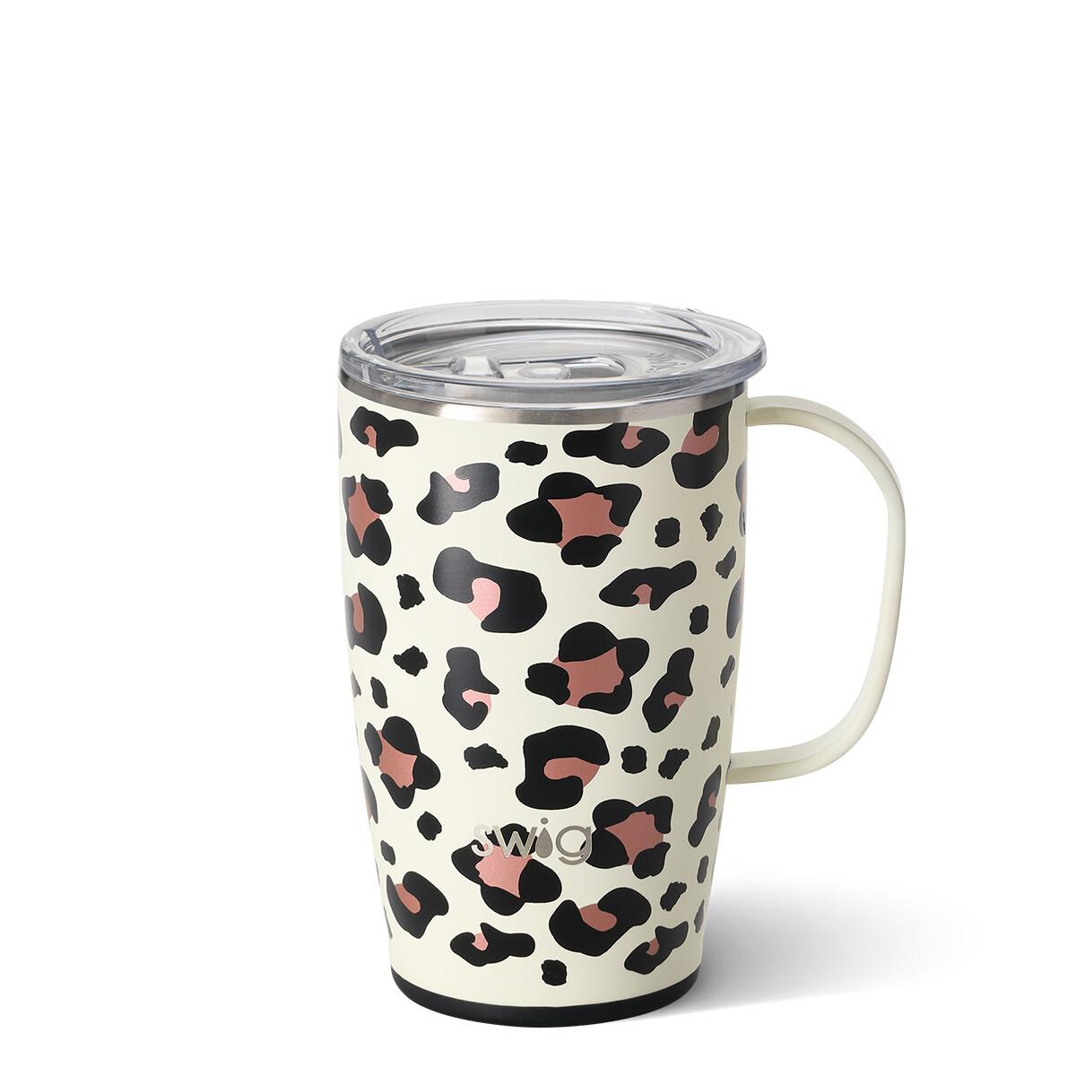 Luxy Leopard 18 oz Skinny Mug