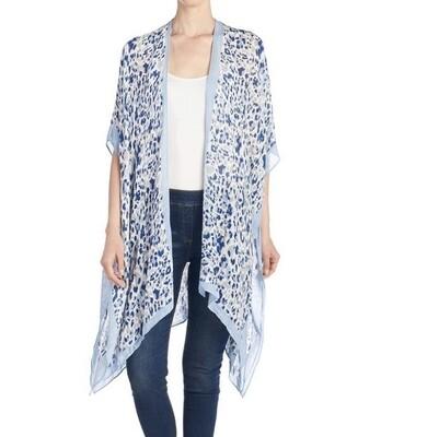 Mya Aquamarine Kimono