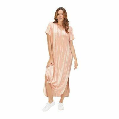 Jojo Midi Dress-Blush