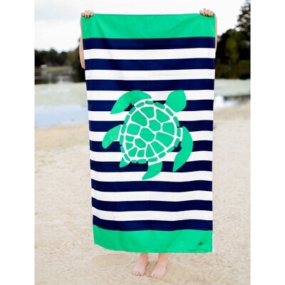 Kid's Microfiber Turtle Towel