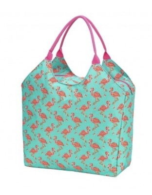 Flamingo Beach Bowling Bag