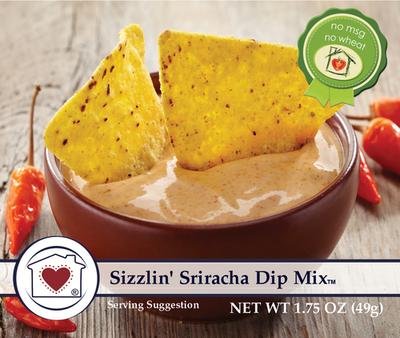 Sizzlin' Siracha Dip Mix