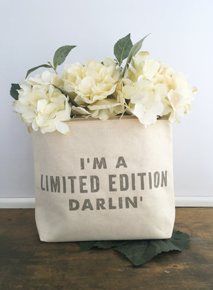 """I'm A Limited Edition"" Zipper Pouch"