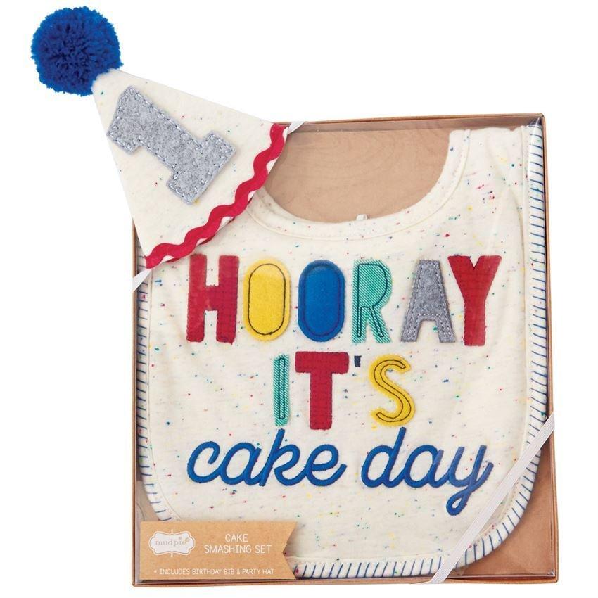 Boy Cake Smashing Set