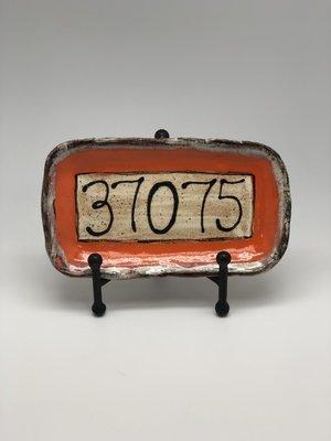 Orange 37075 Tray