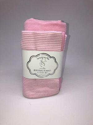 Pink Receiving Blankets