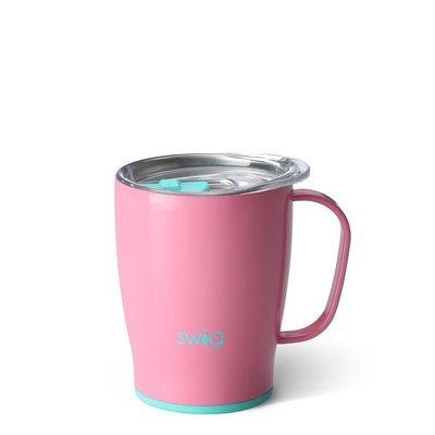 Peony Pink 18 oz Mug