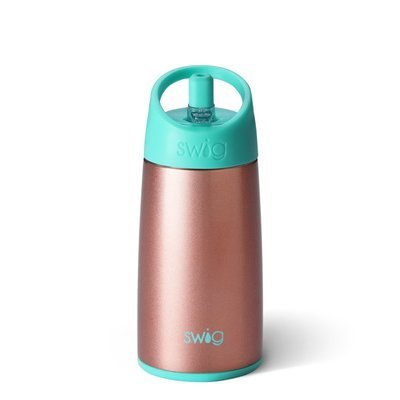 Rose Gold 12 oz Kids Bottle