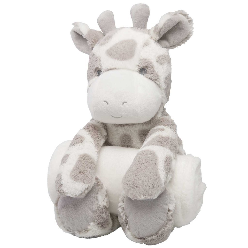 Giraffe Bedtime Huggie with Blanket