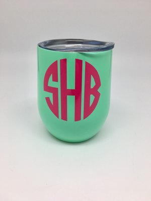 Mint 12oz Stemless Wine Cup