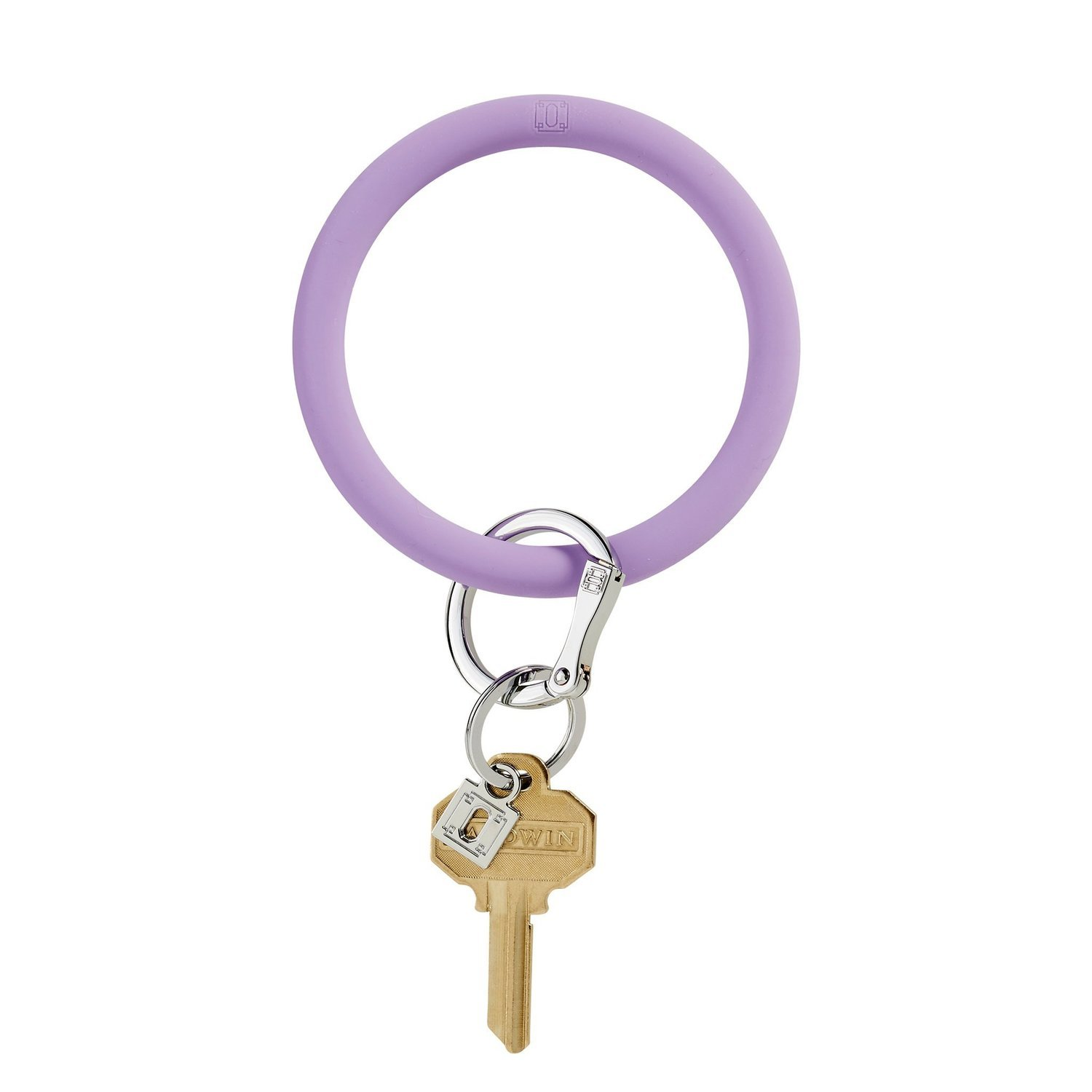 Perwinkle Silicone Key Ring