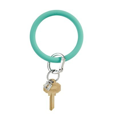 Mint Silicone Key Ring
