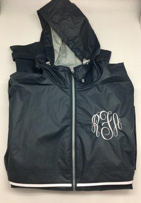 Navy Women's New Englander Rain Jacket