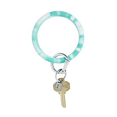 In The Pool Marble Silicone Key Ring