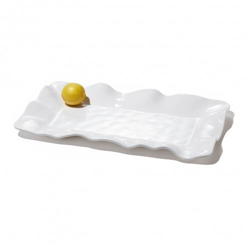 Wavy Rectangular Long Tray