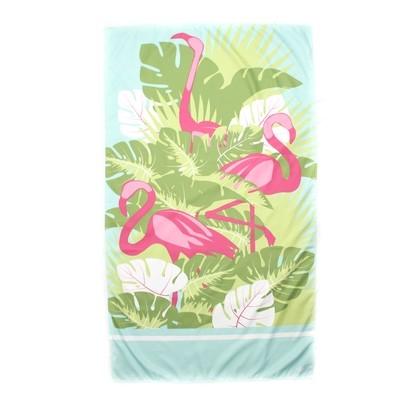 Microfiber Flamingo Pink Towel