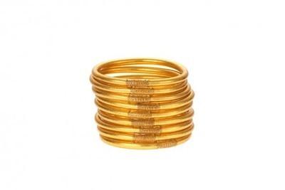 Set of Three Gold Bangles