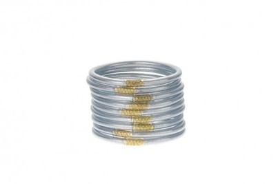 Set of Three Silver Bangles
