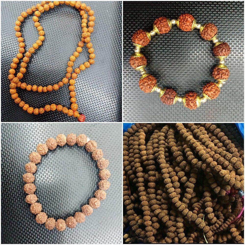 Rudraksha Malas and Bracelets