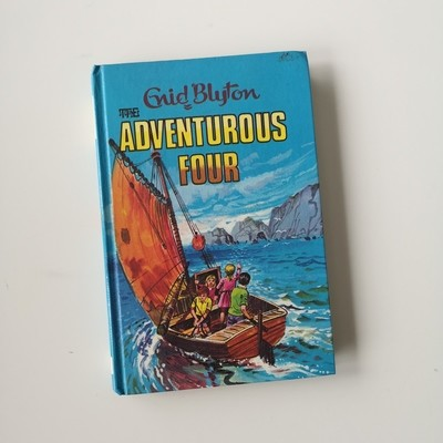 The Adventurous Four Notebook Enid Blyton
