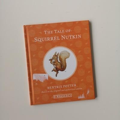 Squirrel Nutkin Notebook