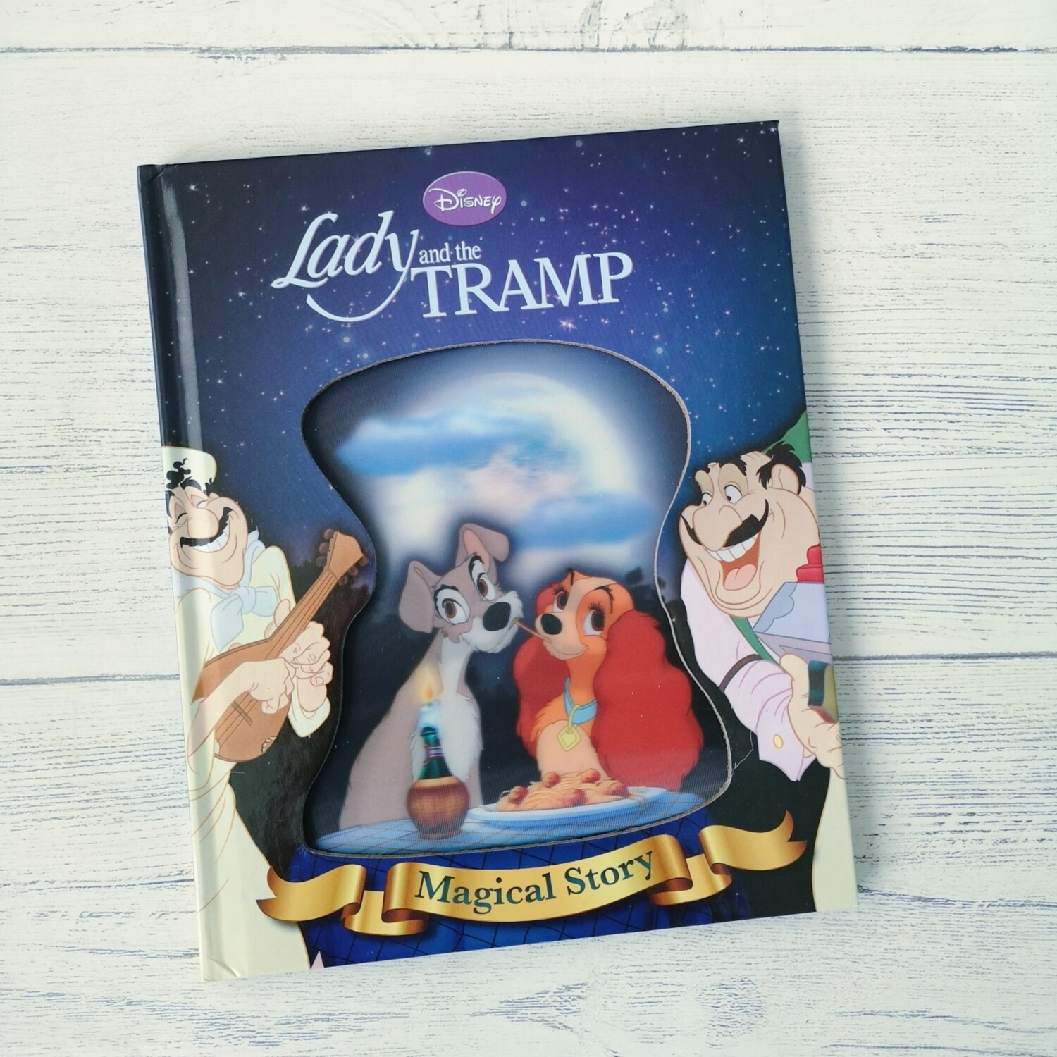 Lady and the Tramp Notebook - Lenticular Print