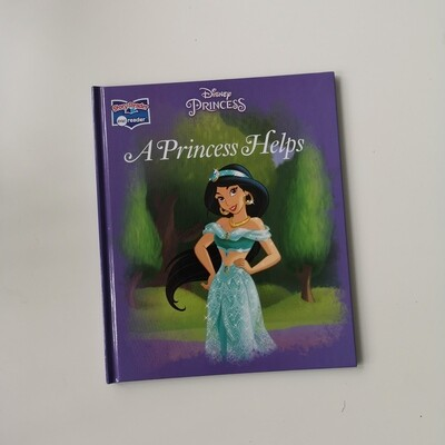 Aladdin - Princess Jasmine Notebook - A Princess Helps