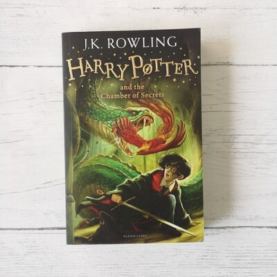 Harry Potter and the Chamber of Secrets Notebook made from a paperback book