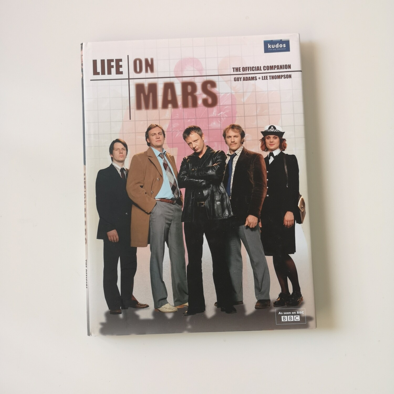 Life on Mars Notebook made from a dust jacket