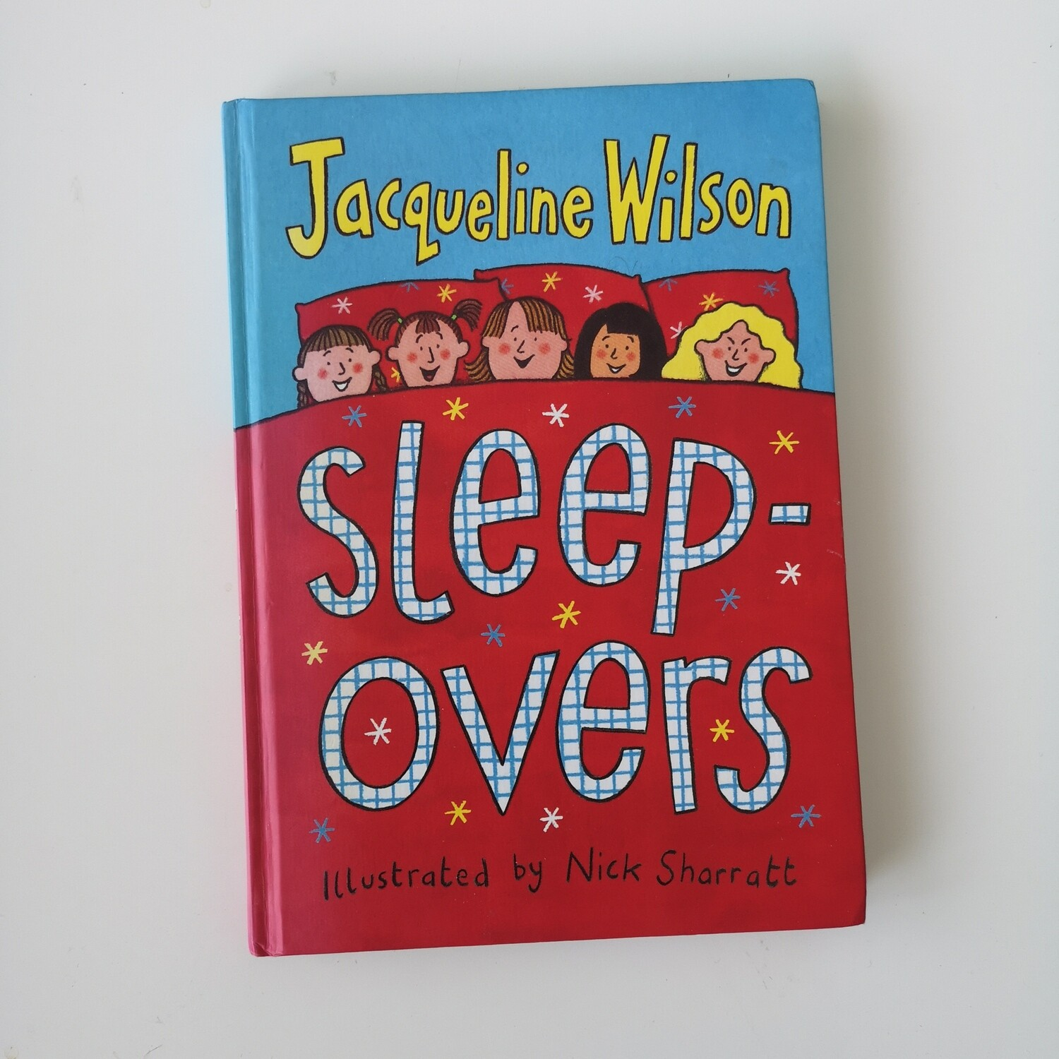 Jacqueline Wilson Notebook - Sleepovers, bed