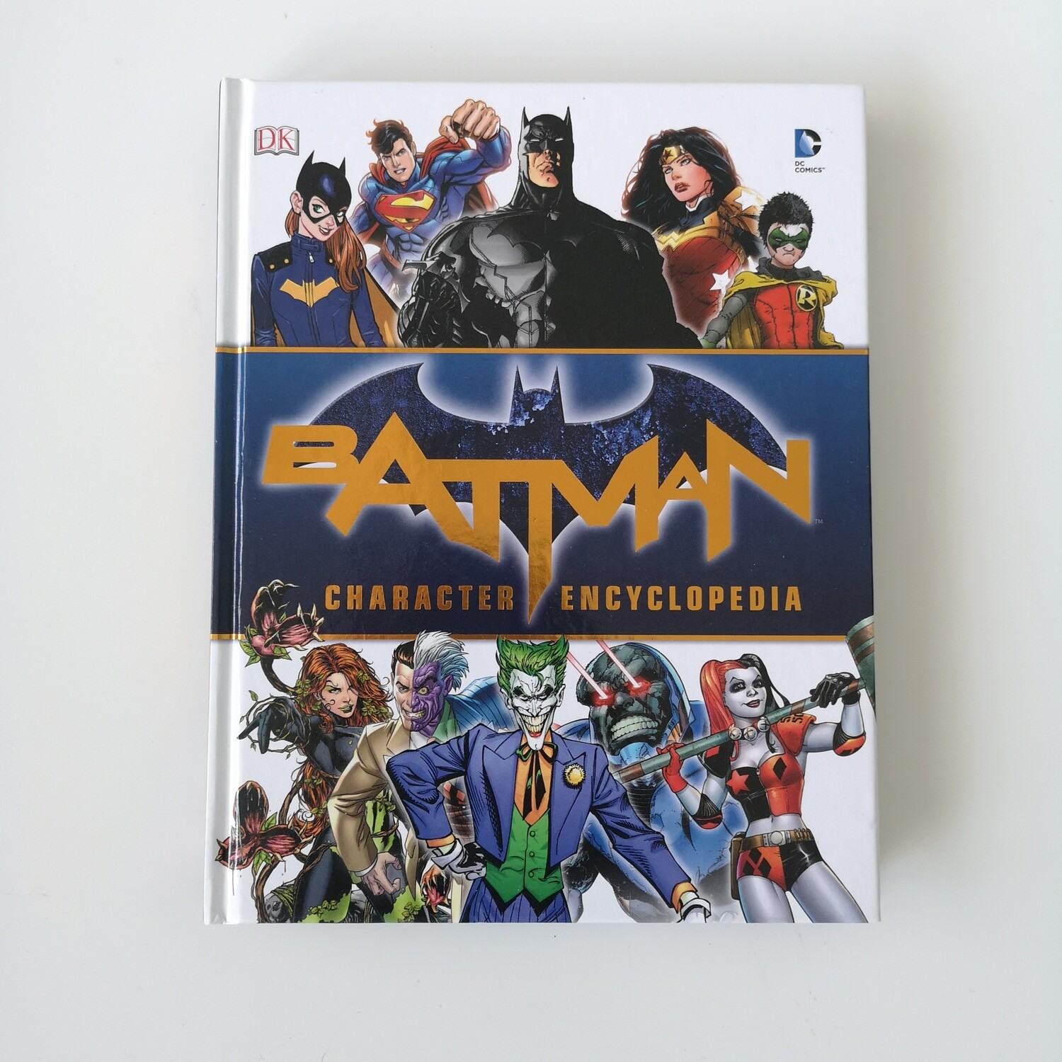 Batman, Superman, Wonder Woman, The Joker etc... Notebook