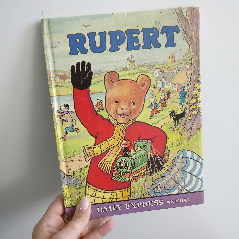 Rupert the Bear Notebook  - toy train