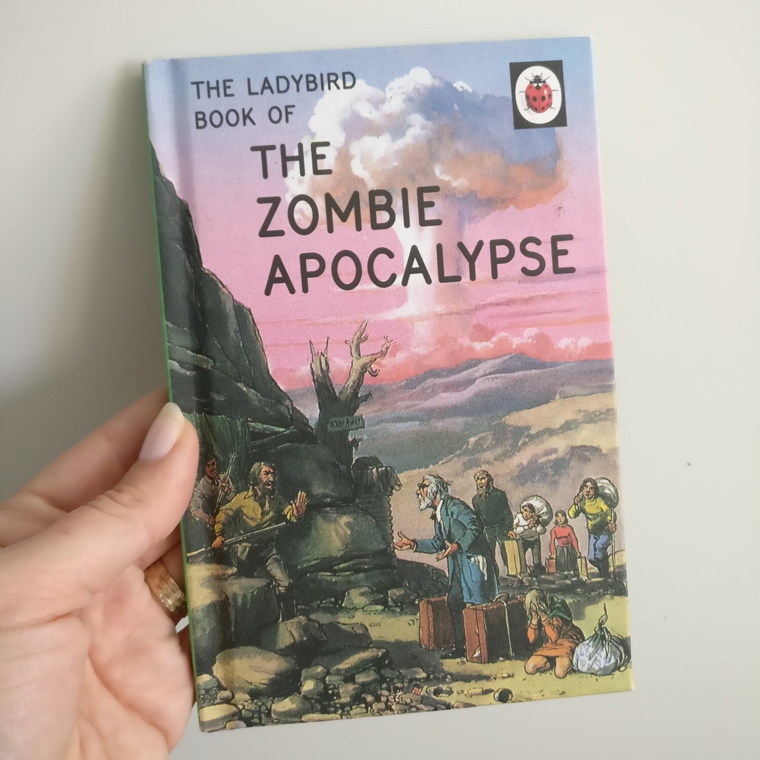 The Zombie Apocalypse Notebook - Ladybird books for grown ups