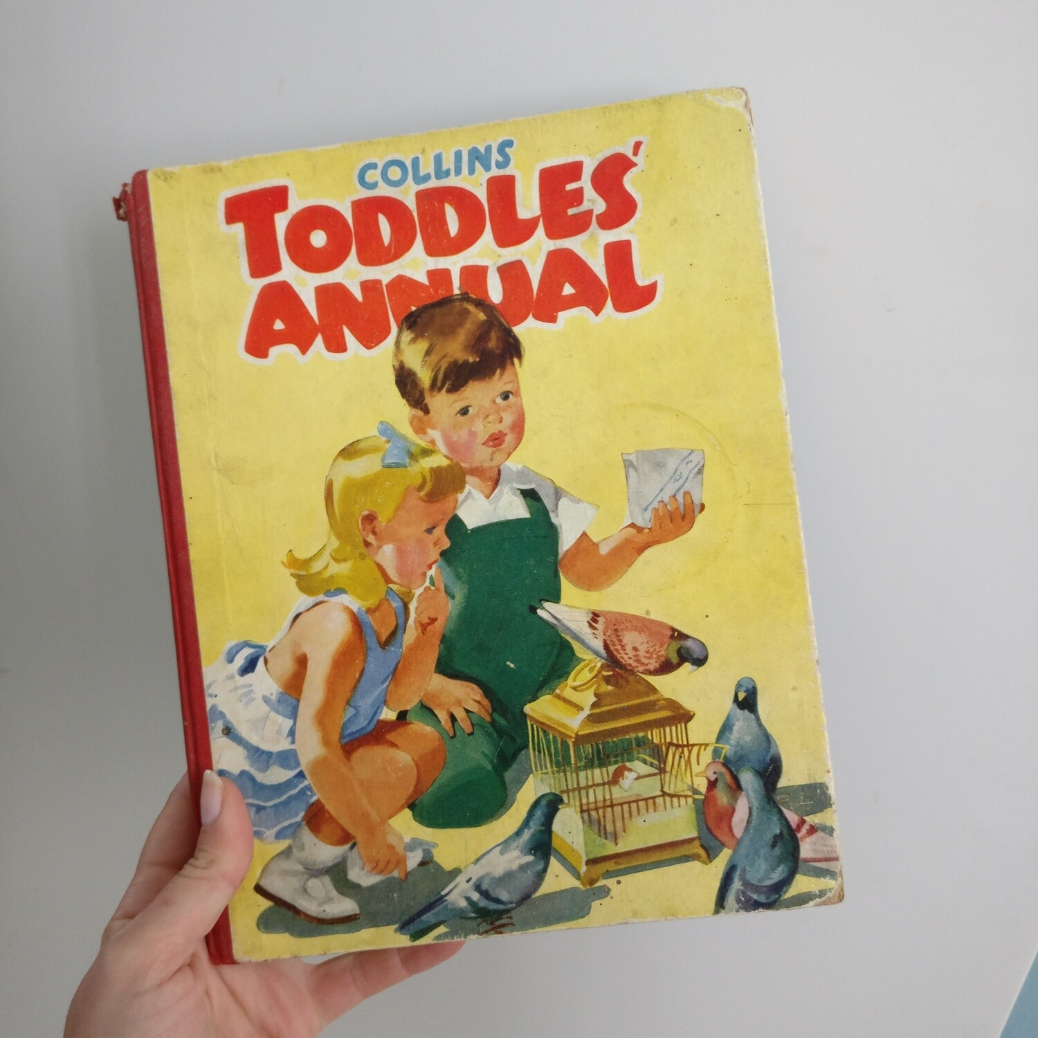 Collins Toddler Annual vintage Notebook c 1955