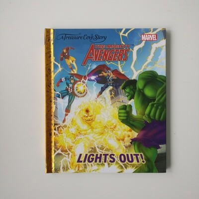 The Avengers Notebook Lights Out