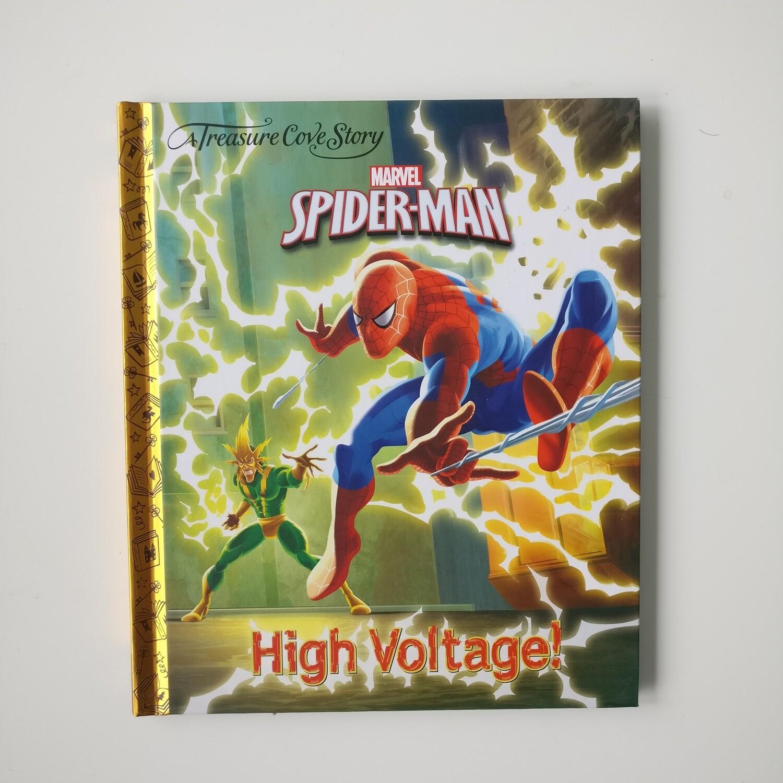 Spiderman Notebook High Voltage