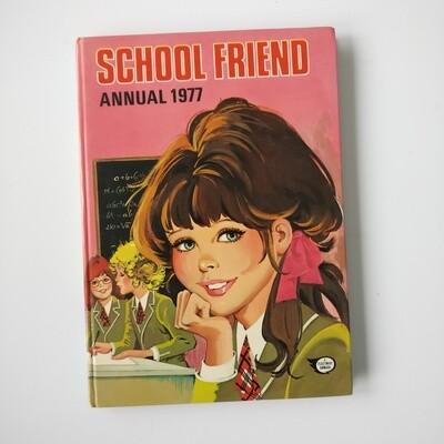 School Friend 1977 Notebook