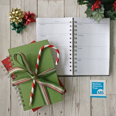 MS Trust Charity Notebooks and Diaries  - Limited Edition