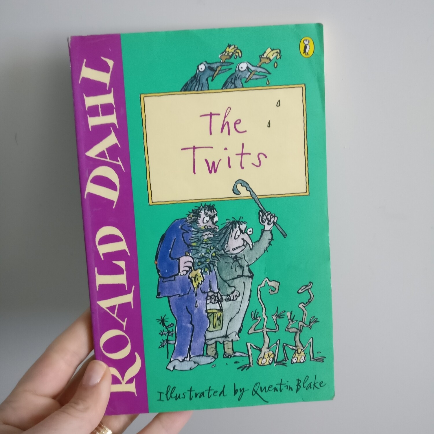 The Twits by Roald Dahl Notebook - made from a paperback book