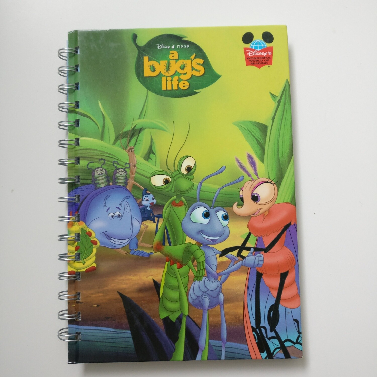 A Bugs Life Notebook - READY TO SHIP : diary and lined